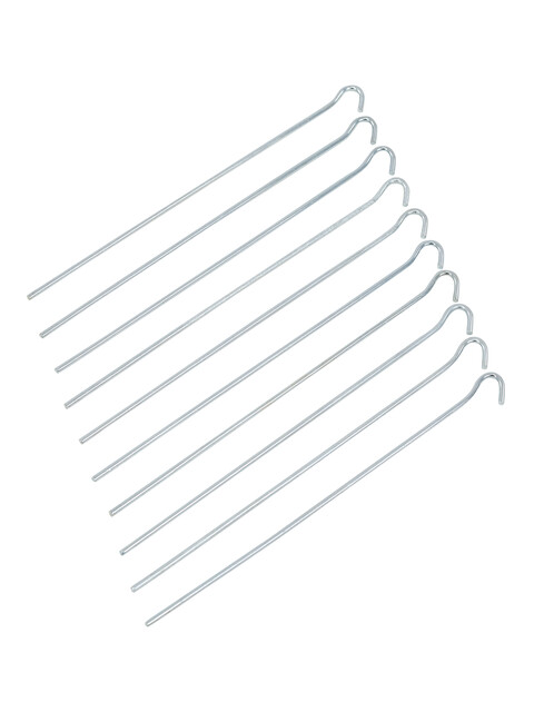 CAMPZ Markpinne slät 30 cm stål